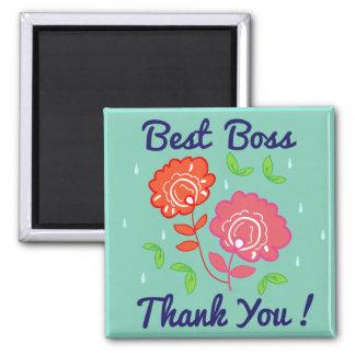 Thank You Boss Magnet