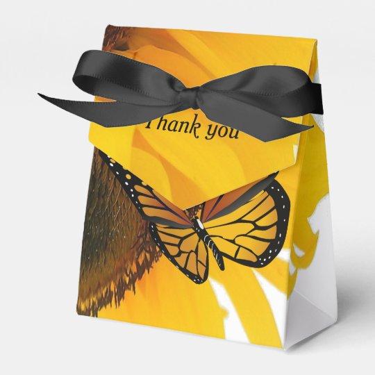 Thank you box favor boxes