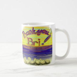 Thank You Bri and Company Mug Basic White Mug