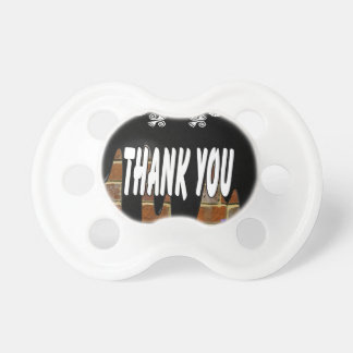 THANK YOU BRICK BACKGROUND PRODUCTS PACIFIERS