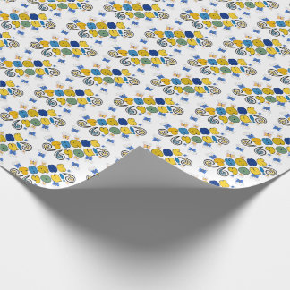 """""""Thank you"""" bright doodle design Wrapping Paper"""