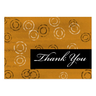 Thank You-brown retro Business Card Templates