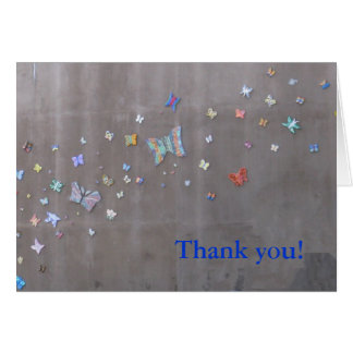 Thank you!  Butterflies in San Diego Card