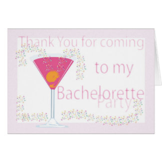 Thank you card Bachelorette Party
