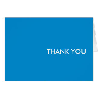 "Thank you card--""blue dream"" card"