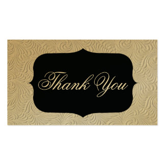 thank you card business card
