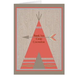 Thank You Card for Camp Counselor