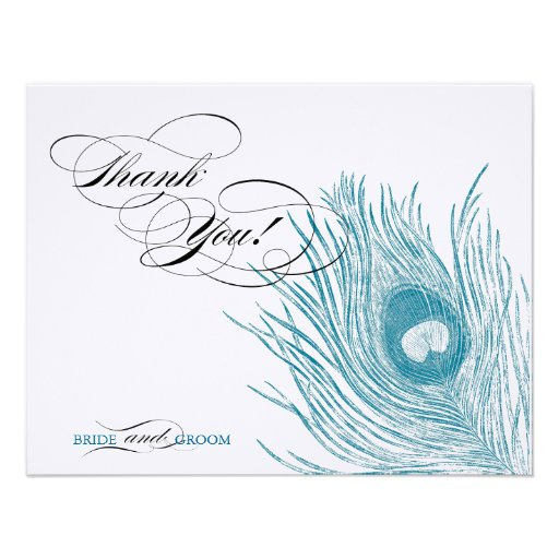 Thank You! Card Personalized Announcements