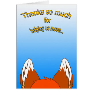 Thank You Card (Moving)