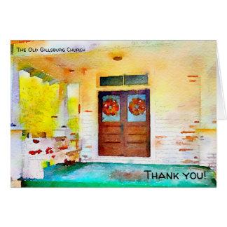 Thank You Card-Old Gillsburg Church Card