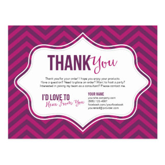 Thank You Card Postcards