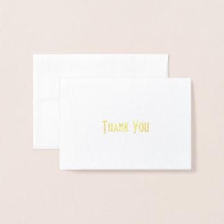 Thank You Card (Simply Elegant)