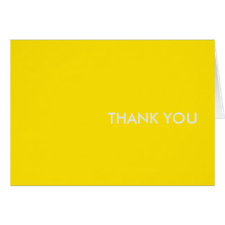"thank you card-""yellow sports car"" card"