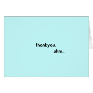 Thank You Card - You're the Best