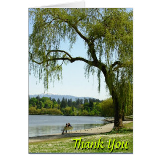 Thank You Cards Canadian Landscape Custom Cards