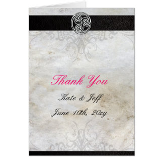 Thank You Cards- Celtic Gaelic Knot Card