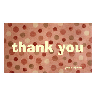 Thank You Cards Pack Of Standard Business Cards