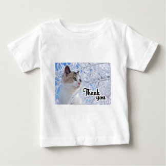 Thank You Cat Baby T-Shirt