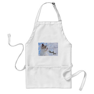 Thank You Cat Standard Apron