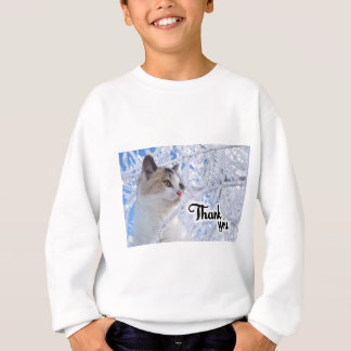 Thank You Cat Sweatshirt