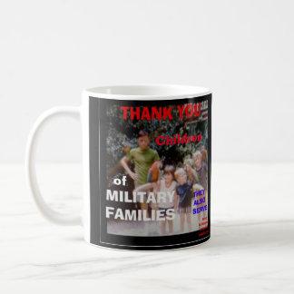 THANK YOU CHILDREN OF MILITARY FAMILIES CUSTOM MUG