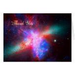 Thank You - Cigar Galaxy, Messier 8 Greeting Cards