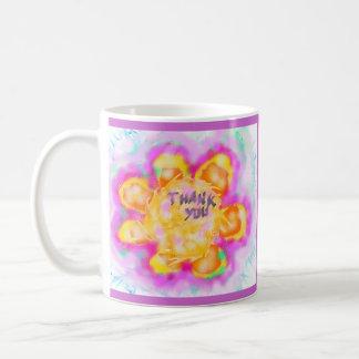 thank you classic white coffee mug