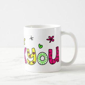 Thank You! Classic White Coffee Mug