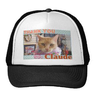 THANK YOU CLAUDE TRUCKER HAT