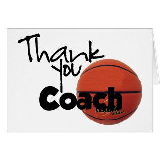 Thank You Coach Basketball Cards