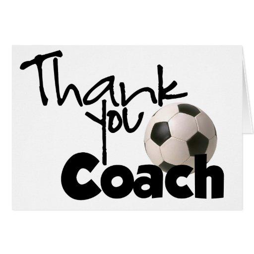 Thank You Coach, Soccer Cards