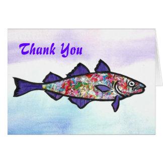 Thank You Cod Card