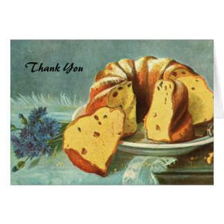 Thank You - Coffee Cake for Company - Perfect Host Card