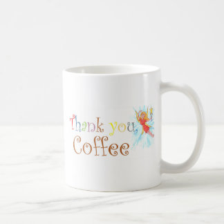 Thank You, Coffee Classic White Coffee Mug