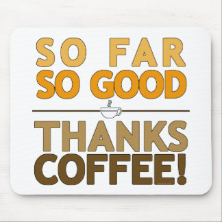 Thank You Coffee Mouse Pad