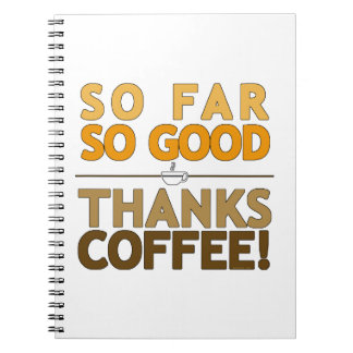 Thank You Coffee Note Book