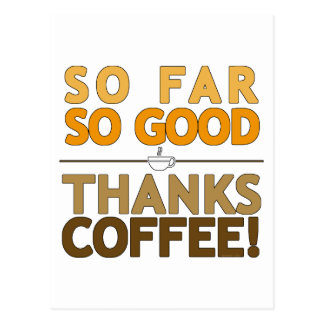 Thank You Coffee Postcard