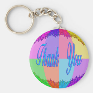 Thank You colorful Keychain