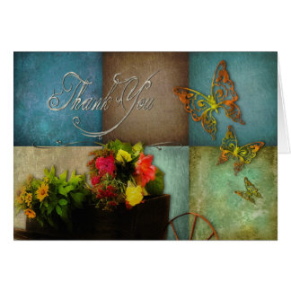 THANK YOU - COUNTRY FEELING GREETING CARD