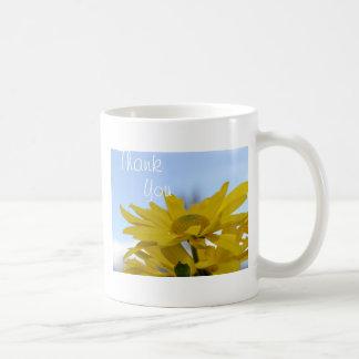 Thank you cup classic white coffee mug
