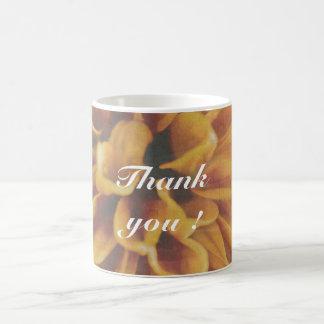 Thank you ! cup classic white coffee mug