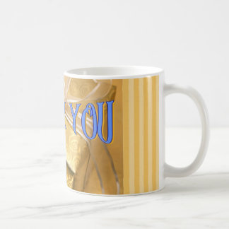 Thank you cup coffee mug