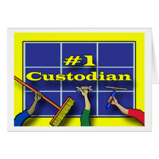 Thank You Custodian, Tools of the Trade Card