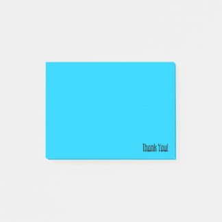 Thank You | Custom Blue Post-it Notes