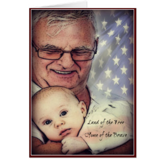 Thank You Dad Veterans Day Card