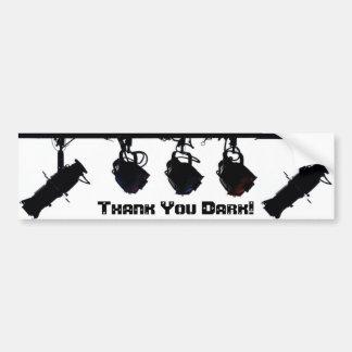 Thank You Dark Bumper Sticker