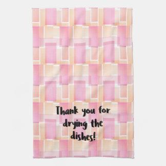 Thank You Dish Kitchen Towel
