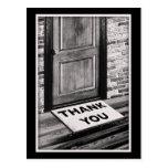 thank you door mat photograph