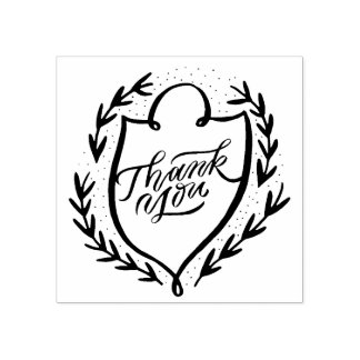 THANK YOU favor stamp Personalized rubber stamp
