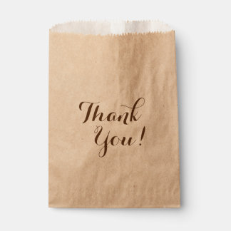 Thank You Favour Bags